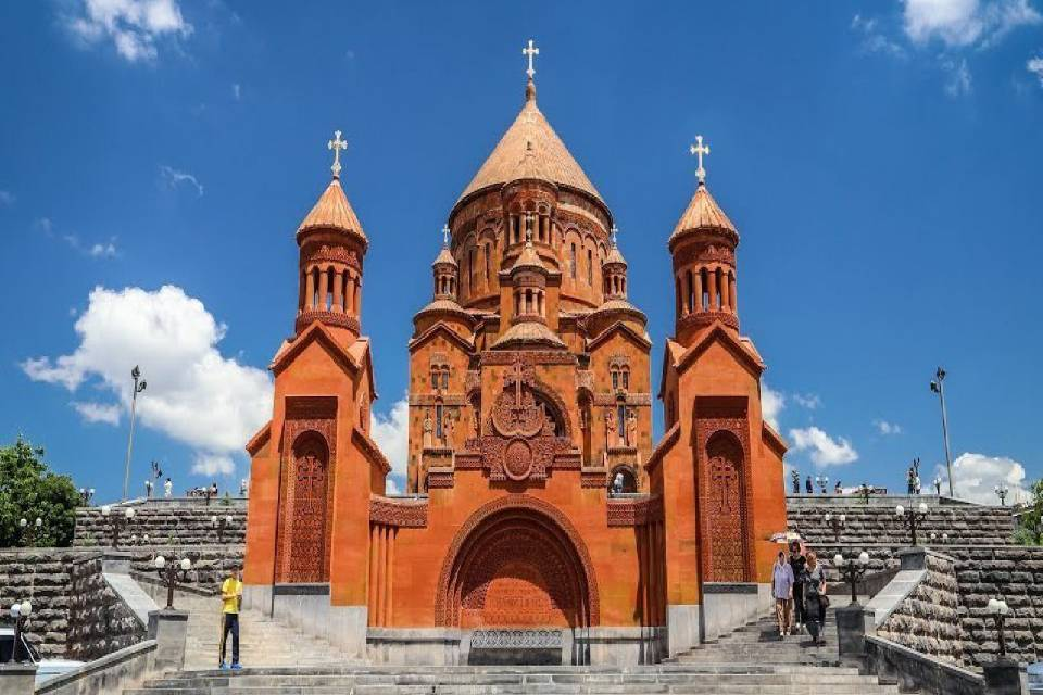 St. Hovhannes Mkrtich church of Abovyan